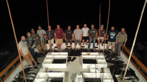 2019 Fishing Trip Group picture
